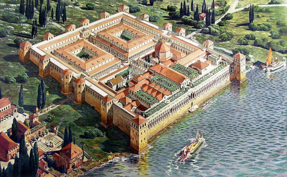 Palazzo di Diocleziano a Spalato.jpg