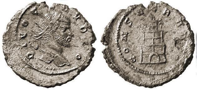 Claudio II , CONSECRATIO.jpg