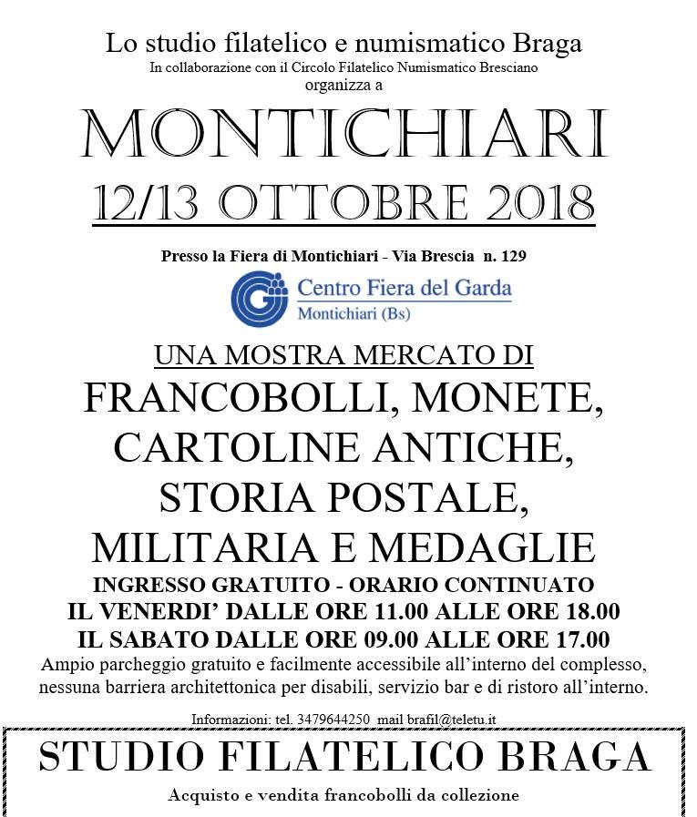 8963ec0f3b Evento commerciale] 12/13 ottobre 2018 - Montichiari (BS ...