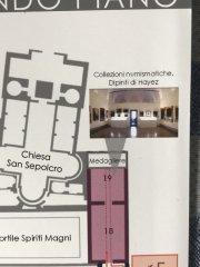 Mappa Ambrosiana con indicazione collezioni numismatiche in sala 19.jpg