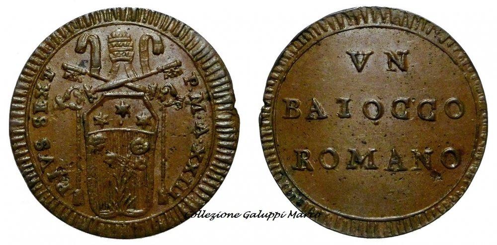 Baiocco Romano an.XXIII.JPG