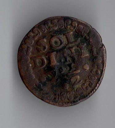 1611-1645 года - 10 торнези или 2,5 солдини - Венеция Крит р.JPG