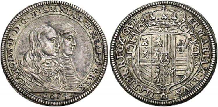 Carlo II Tarì 1674 NAC 112 lotto 70.jpg