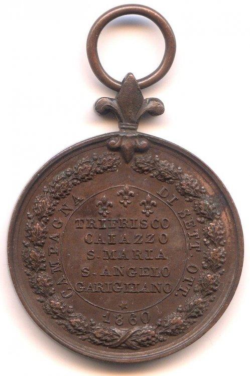 MEDAGLIA 1860 di trifrisco PER LA CAMPAGNA DI SETTEMBRE OTTOBRE 1860 rov.600dpi.JPG