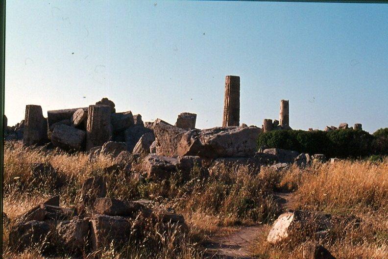 SELINUNTE 10 resti del  tempio F il piu piccolo.jpg