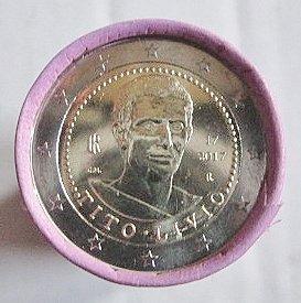 """Rotolo della Zecca da 25 monete da 2 euro""""Tito Livio"""""""