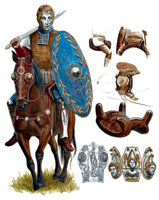 cavaliere romano in assetto da cerimonia.jpg