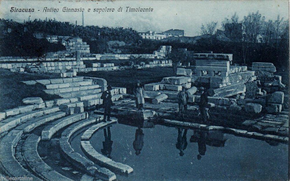 Ginnasio e sepolcro di Timoleonte a Siracusa.jpg