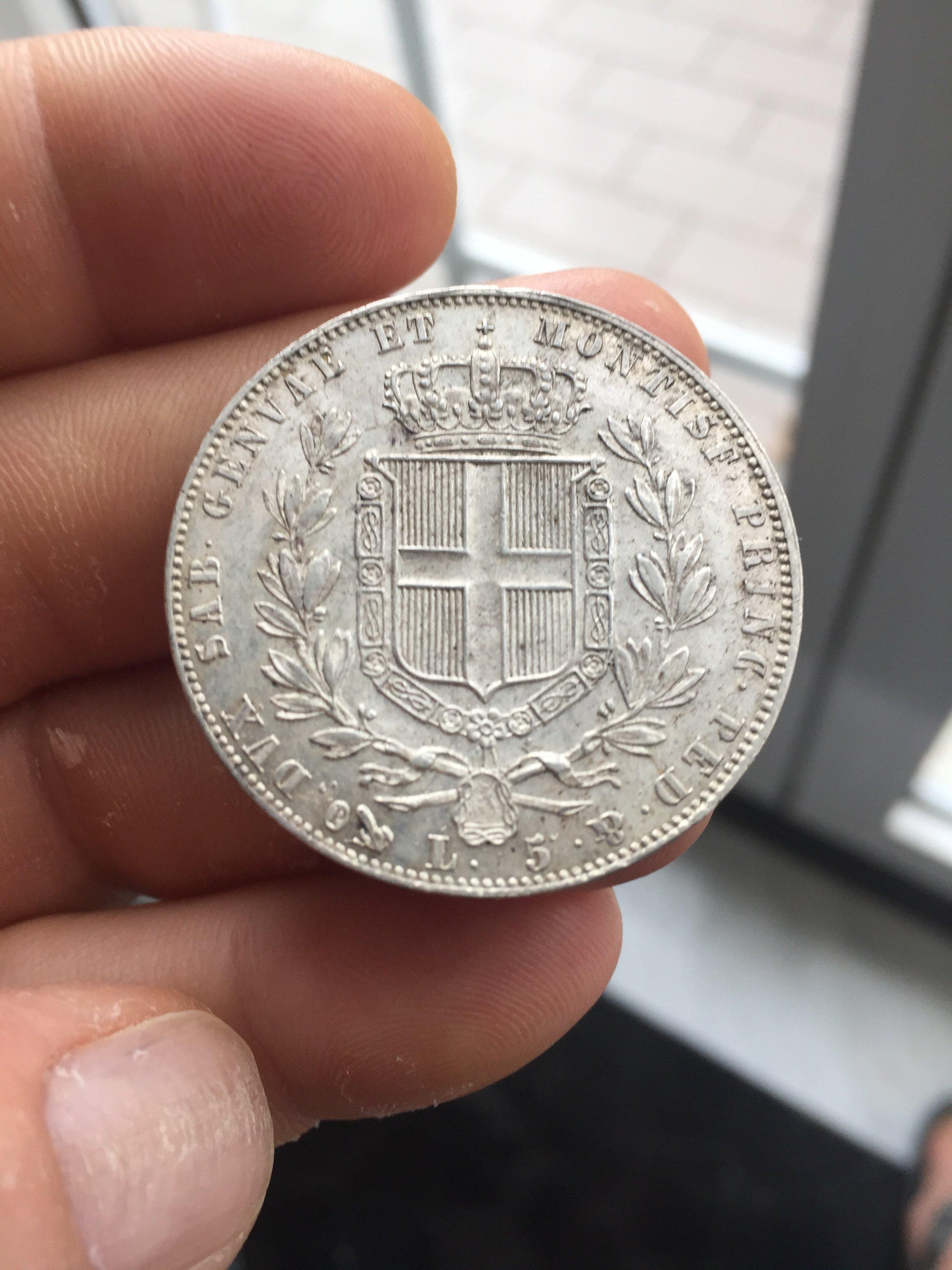 vendo monete del regno d'Italia dal 1820 al 1940