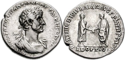 Publio Elio Traiano ADRIANO 117 d.C. denario.jpg