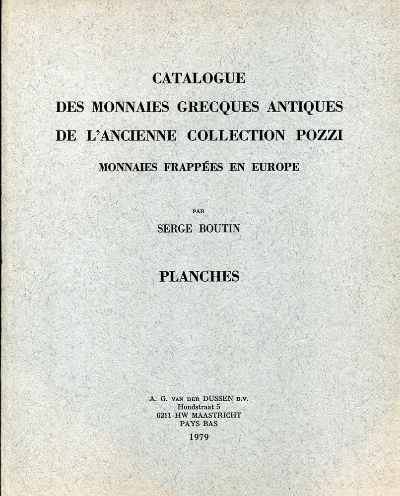 Catalogue des monnaies grecques antiques, collection Pozzi
