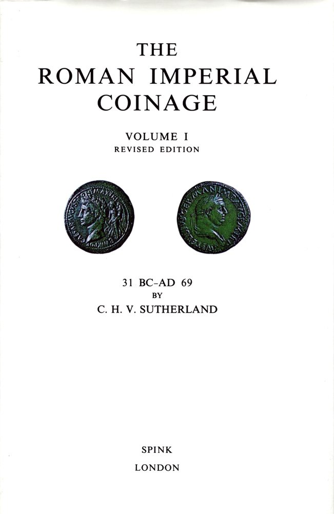 The Roman Imperial Coinage volume I revised edition