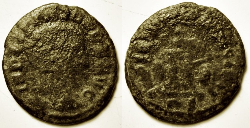 0,85 g. Licinio Quarto di follis Roma Ric VII 17 R5 eb231876632277 pa.jpg