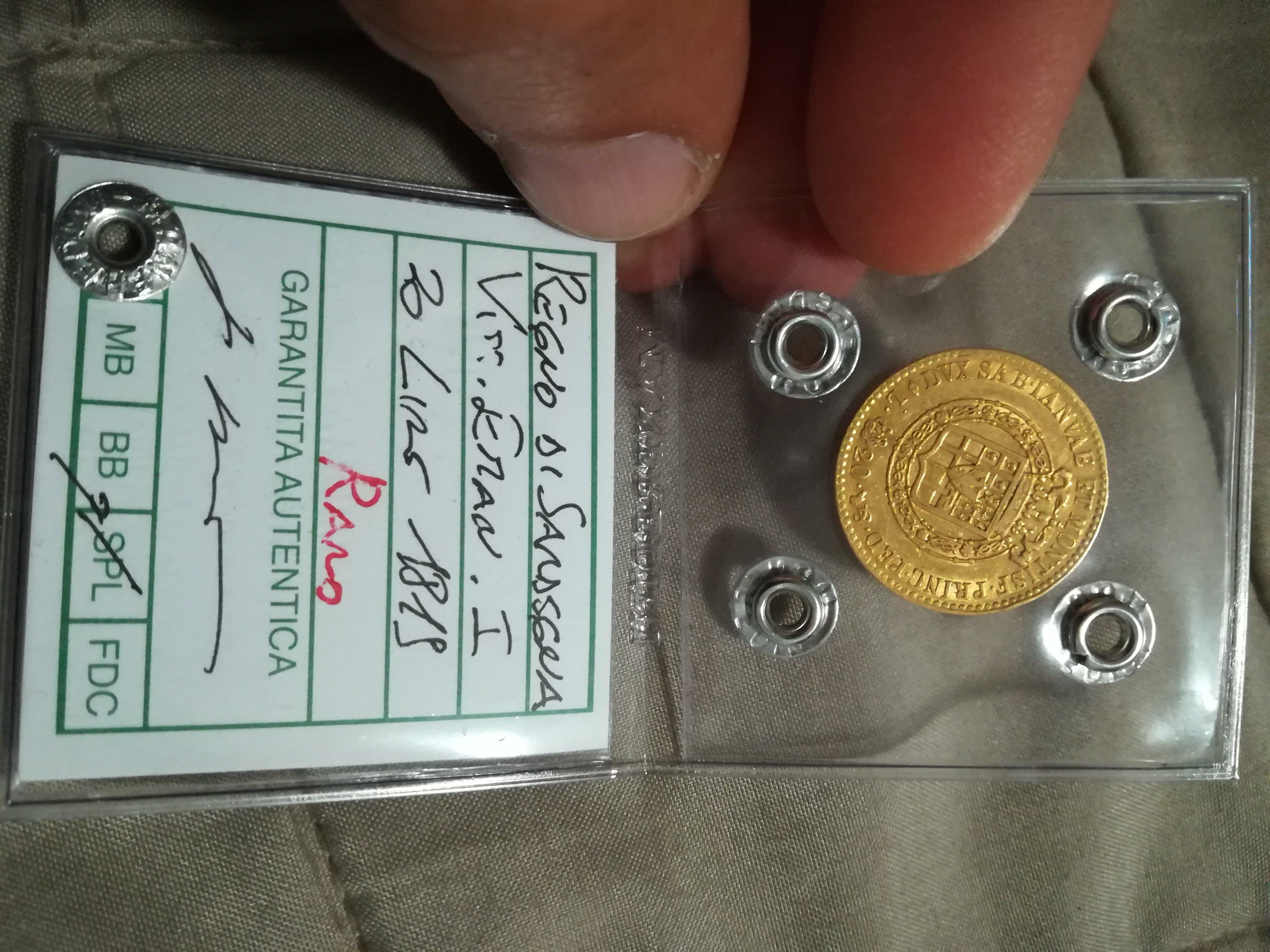 Monete periziate cedo