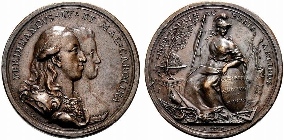 Scambio Medaglie Sud Italia fino al 1899
