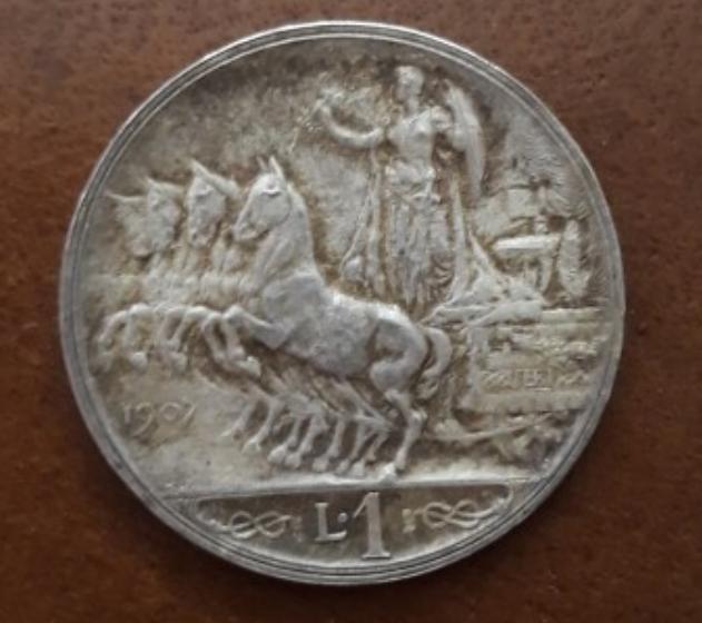 1 lira 1907.. 140 prova della lira II tipo.png