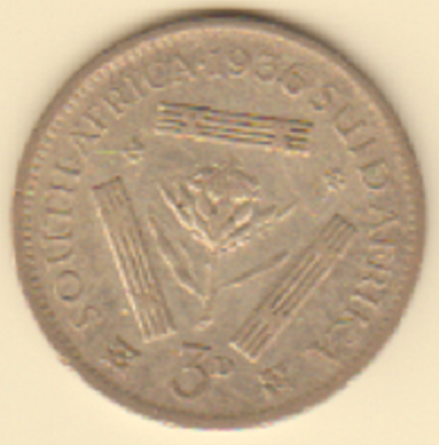 3 pence 1936 Sud Africa.PNG