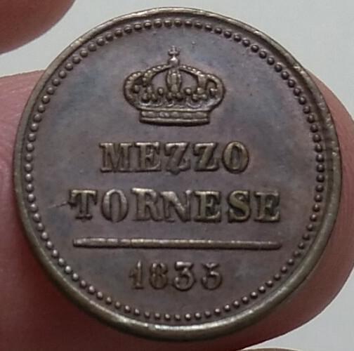Mezzo Tornese 1835 cifra 5 della data ribattuta su 3 b.jpg