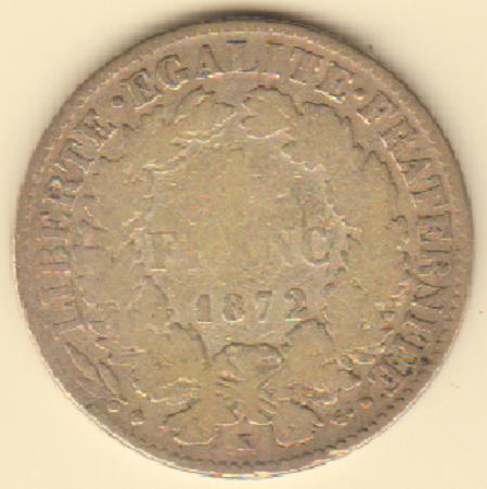 1 franco 1872 Francia.PNG
