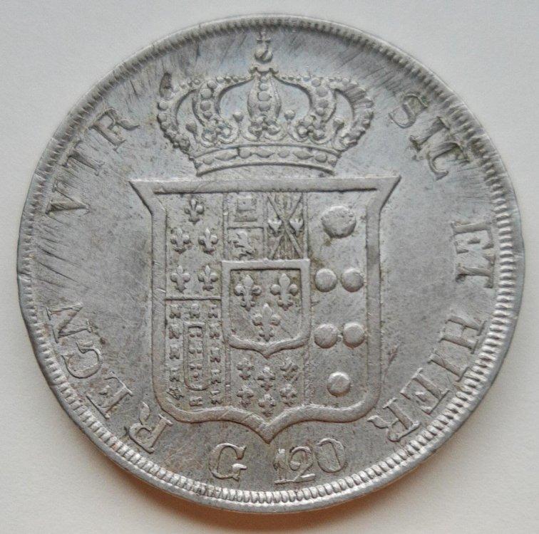 Ferdinando II di Borbone - Piastra 1834 REGN b.jpg