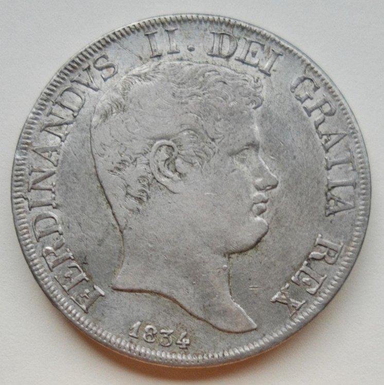 Ferdinando II di Borbone - Piastra 1834 REGN a.jpg