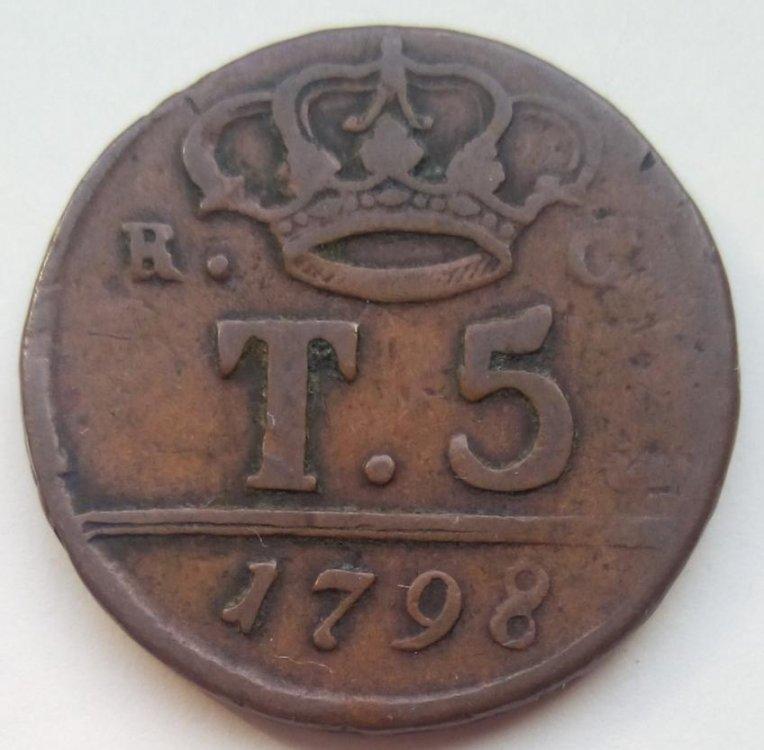 Ferdinando IV di Borbone - 5 Tornesi 1798 30 mm rami lunghi b.jpg