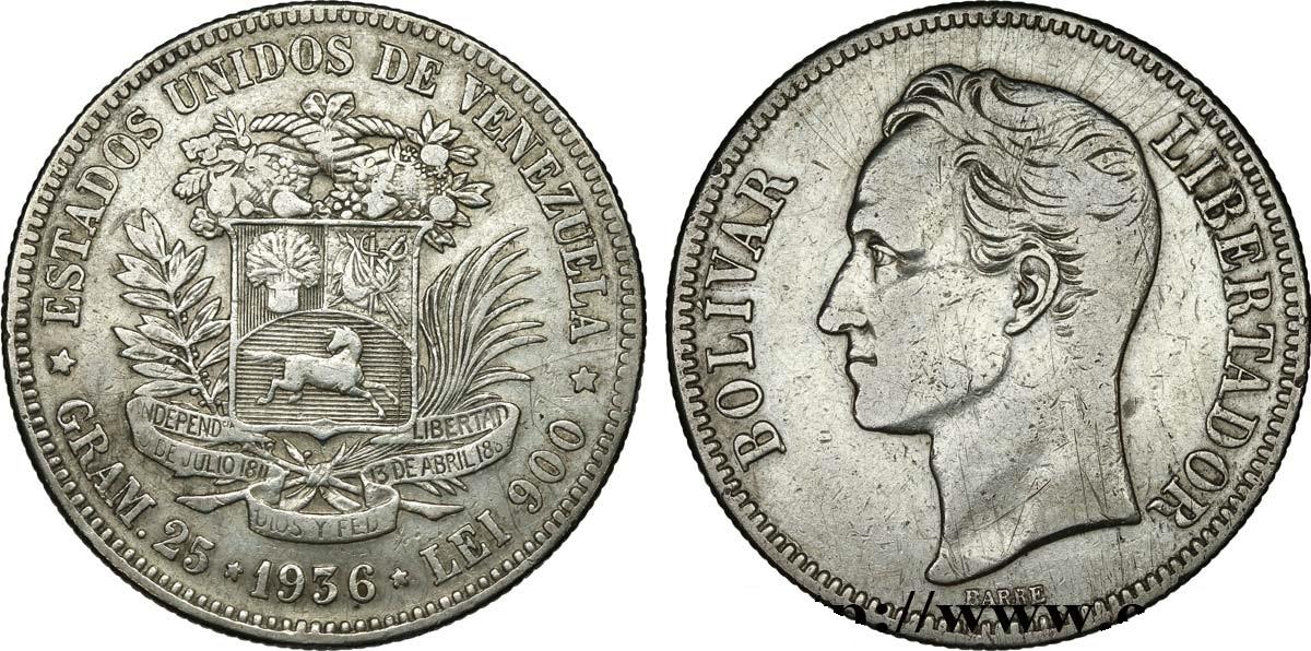 5 Bolivares - 25 gr Argeto 900