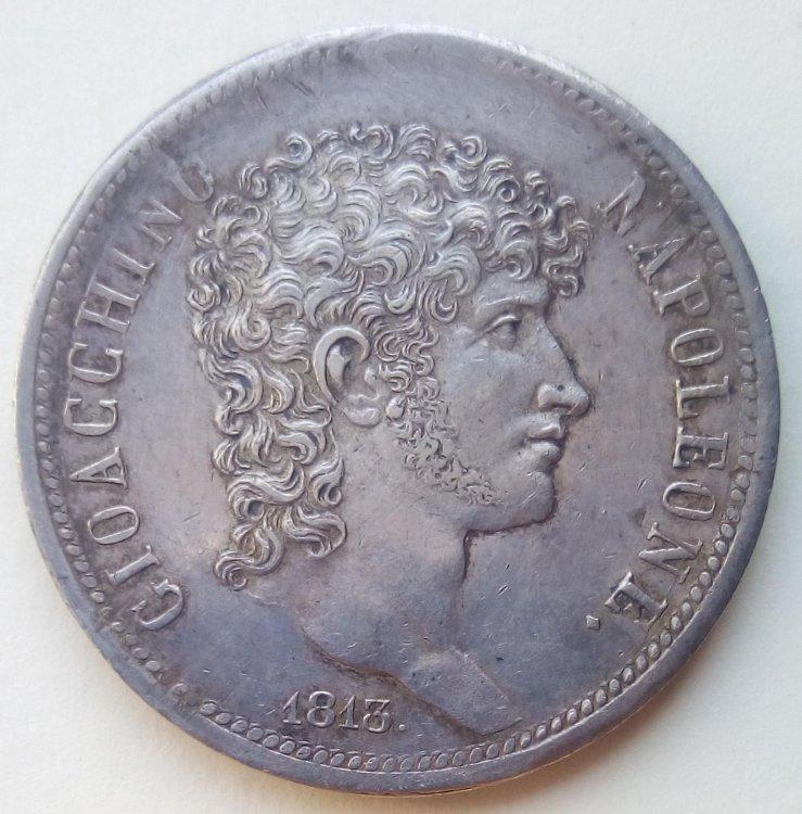 Gioacchino Napoleone - 5 Lire 1813 a.jpg