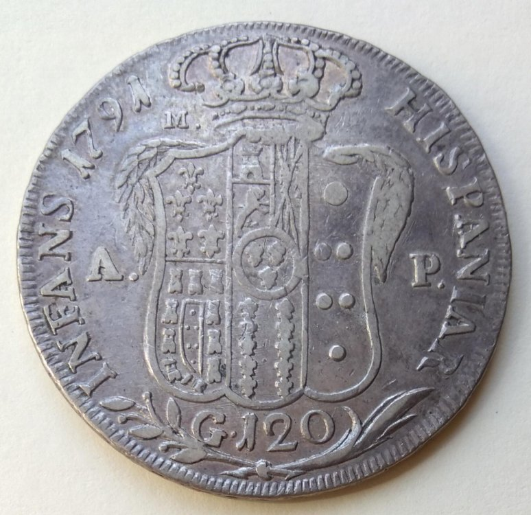 Ferdinando IV di Borbone - Piastra 1791 b..jpg
