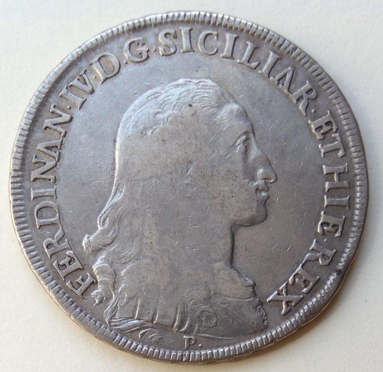 Ferdinando IV di Borbone - Piastra 1791 a..jpg