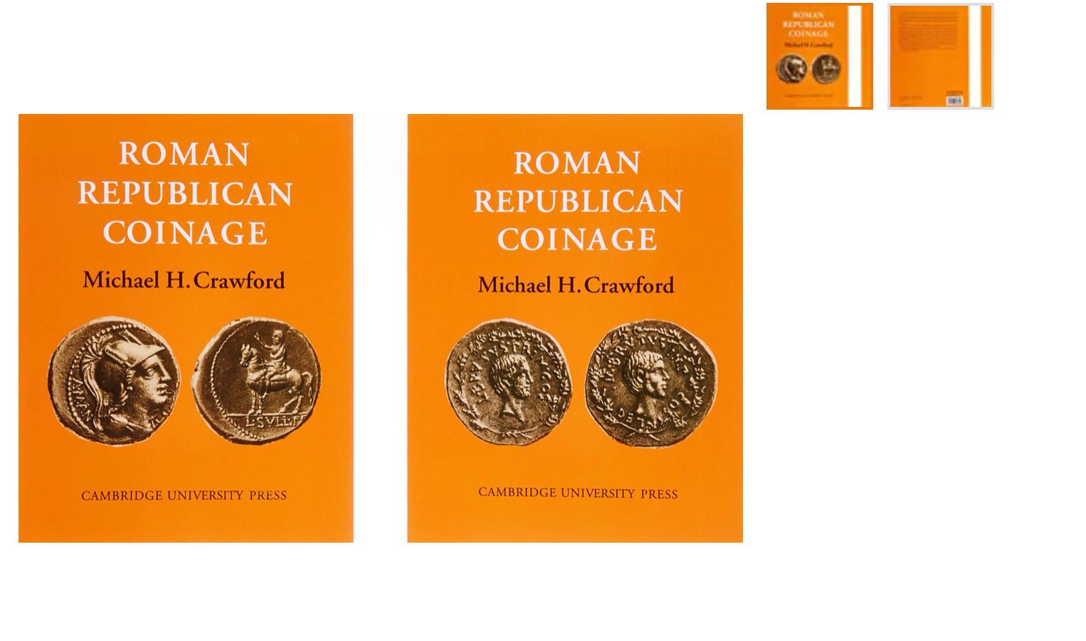 Roman Republican Coinage
