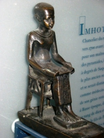 412 Imhotep , Louvre.JPG