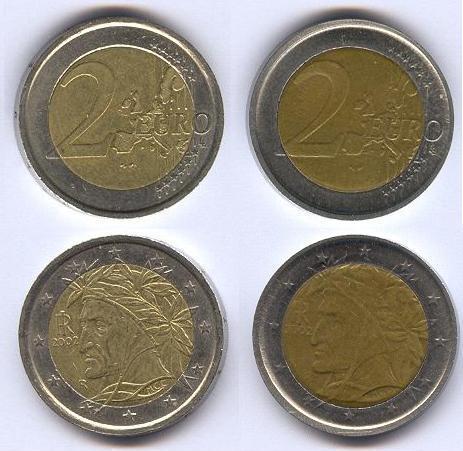 26c1756e11 due EURO falsi ? - Richiesta Identificazione/valutazione/autenticità ...