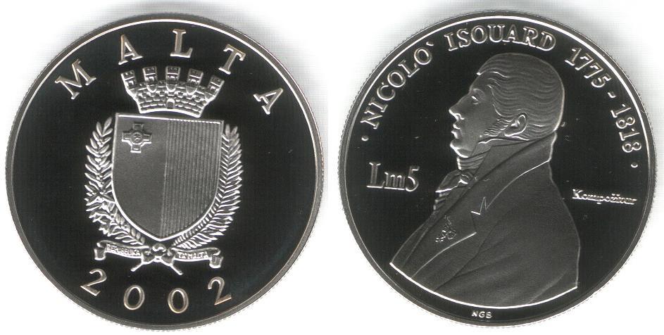 5 Liri - Nicolò Isouard