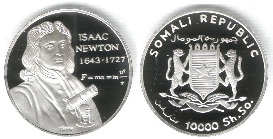 10000 Shillings - Newton