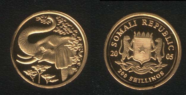 200 Shillings - 2005