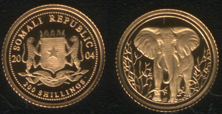 200 Shillings - 2004