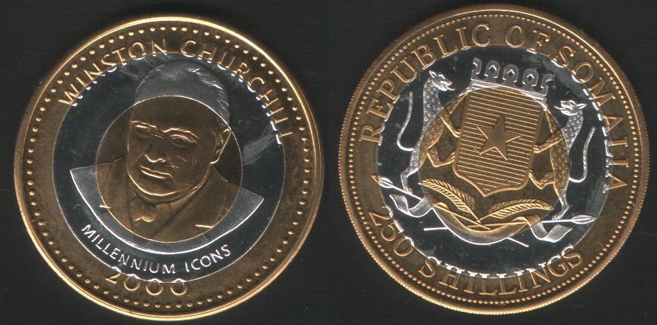250 Shillings - Churchill