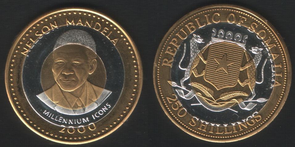 250 Shillings - Mandela