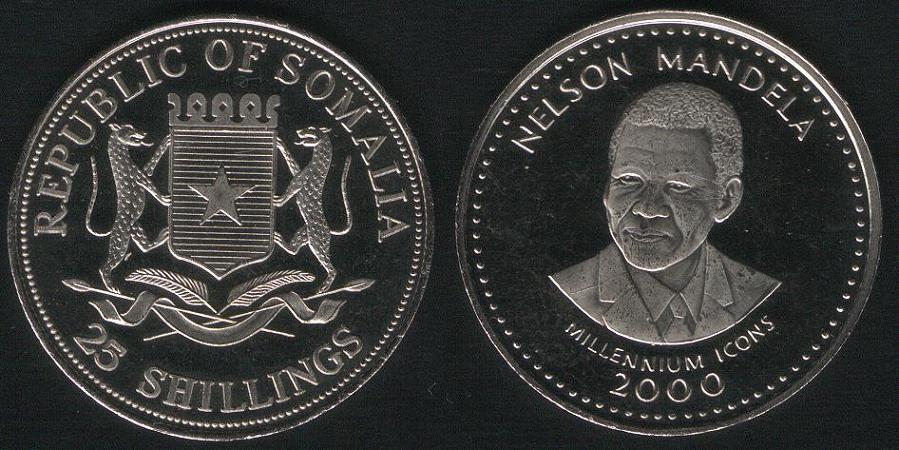 25 Shillings - Nelson Mandela