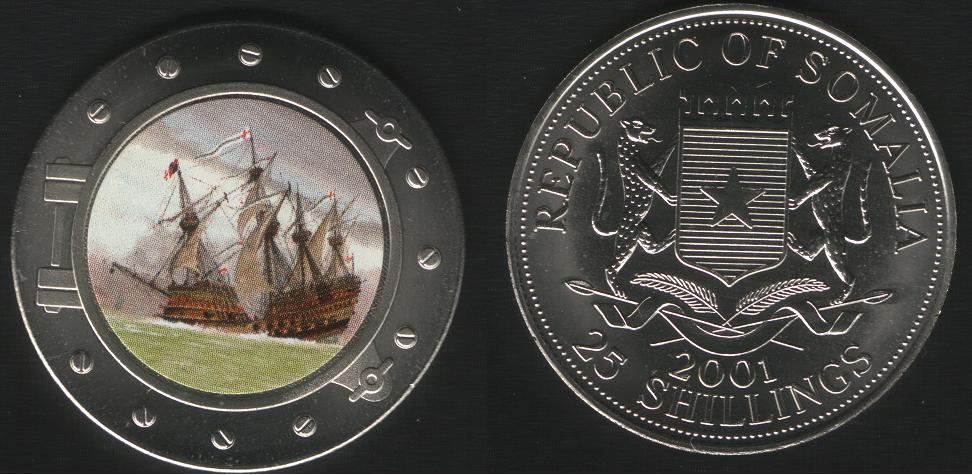 25 Shillings - 2001 - Mary Rose