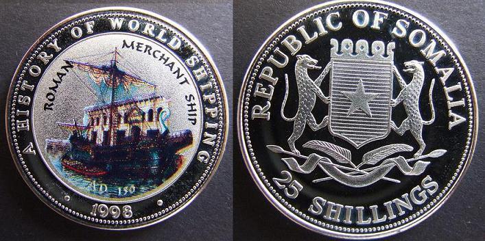 25 Shillings - Romana