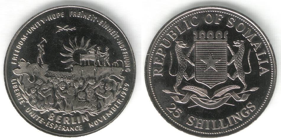 25 Shillings - Berlino