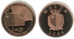 25 Liri - 2004