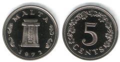 5 Cents - KM# 10