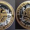 250 Shillings - 2000 - Trimetallo - Muro di Berlino