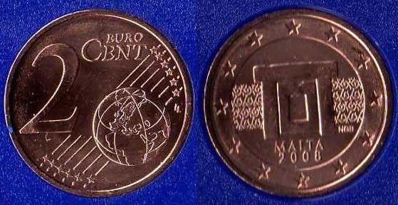 Malta 2 cent 2008 - ....
