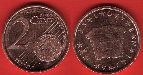 Slovenia 2 cent (2007 - ....)