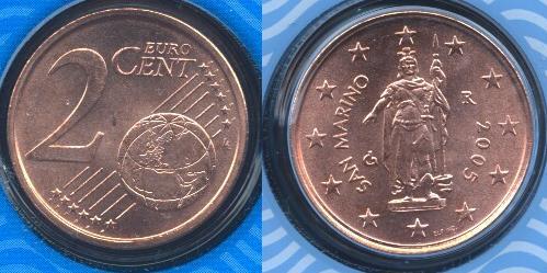 San Marino 2 cent