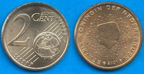 Paesi Bassi 2 cent